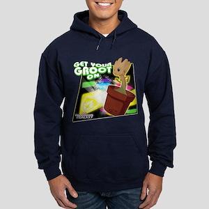 GOTG Get Your Groot On Hoodie (dark)
