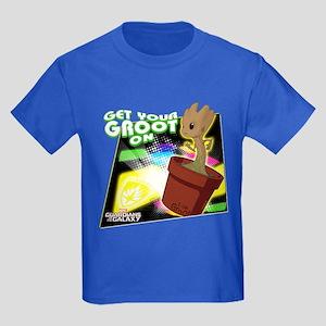 GOTG Get Your Groot On Kids Dark T-Shirt
