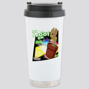 GOTG Get Your Groot On Stainless Steel Travel Mug