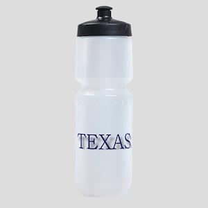 TEXAS PLATES2.jpg Sports Bottle