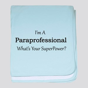 Paraprofessional baby blanket