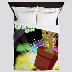 GOTG Get Your Groot On Queen Duvet