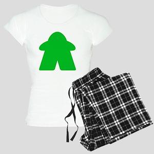 Green Meeple Women's Light Pajamas