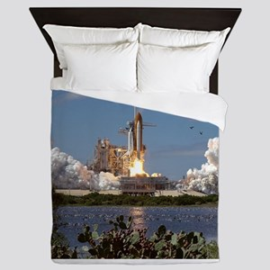 STS-66 Launch Space Shuttle Atlantis Queen Duvet