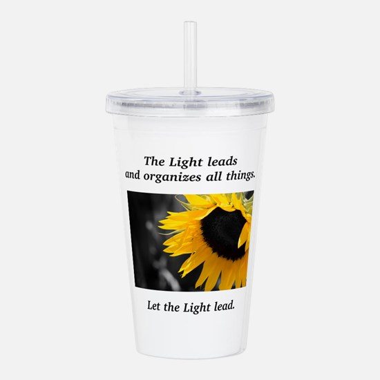 Sunflower Light Leadership Gifts Acrylic Double-wa
