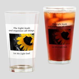 Sunflower Light Leadership Gifts Drinking Glass