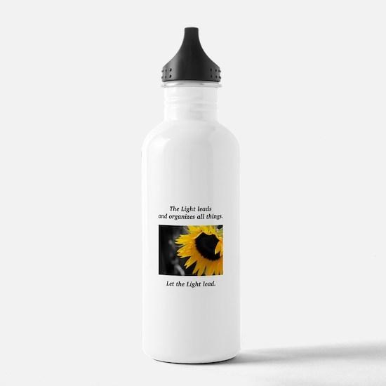 Sunflower Light Leadership Gifts Water Bottle