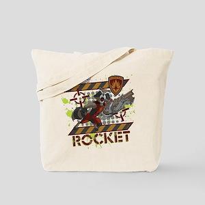 GOTG Rocket Cartoon Danger Tote Bag