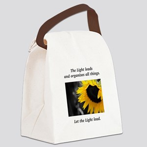 Sunflower Light Leadership Gifts Canvas Lunch Bag