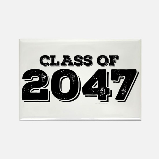 Class of 2047 Rectangle Magnet