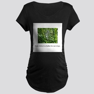 Every Choice Feather Gifts Maternity T-Shirt