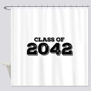 Class of 2042 Shower Curtain
