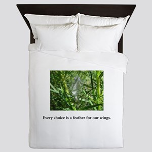 Every Choice Feather Gifts Queen Duvet