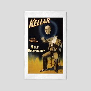 Kellar - Self Decapitation Area Rug