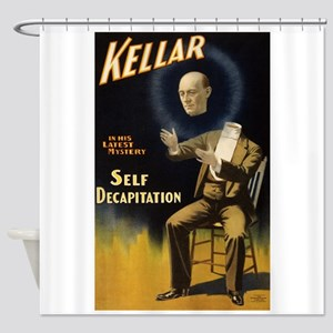 Kellar - Self Decapitation Shower Curtain