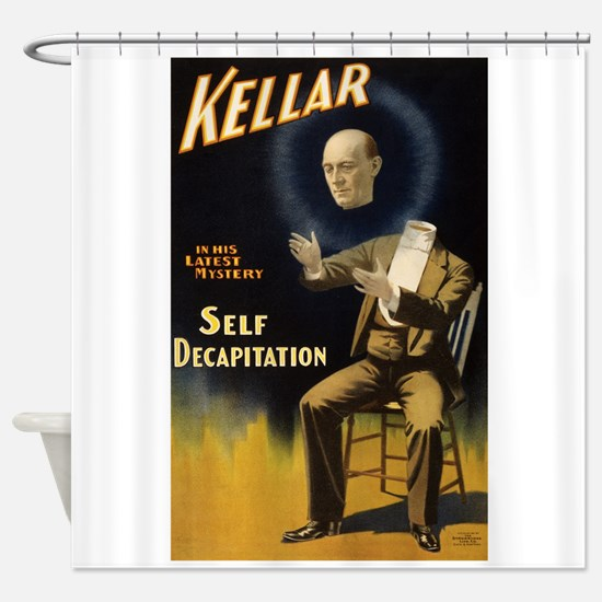 Kellar - Self Decapitation Shower Curtain