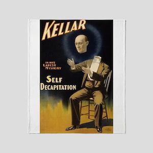 Kellar - Self Decapitation Throw Blanket