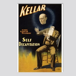 Kellar - Self Decapitatio Postcards (Package of 8)