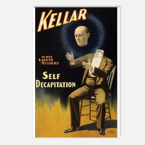 Kellar - Self Decapitatio Postcards (Package of 8)