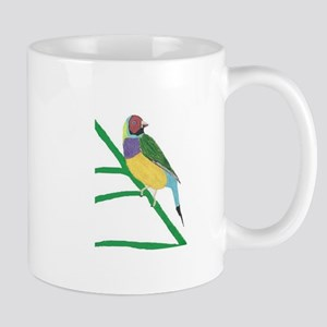 Gouldian Finch Mugs