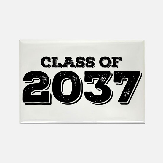Class of 2037 Rectangle Magnet
