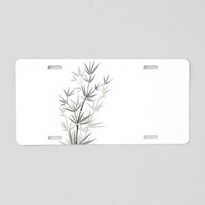 Bamboo Aluminum License Plate