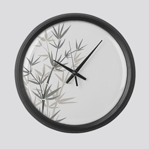 Bamboo Large Wall Clock