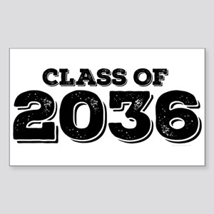 Class of 2036 Sticker (Rectangle)