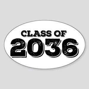 Class of 2036 Sticker (Oval)