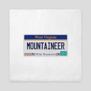 West Virginia - Mountaineer Queen Duvet