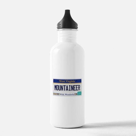 West Virginia - Mounta Water Bottle