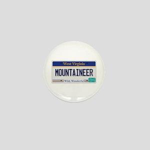 West Virginia - Mountaineer Mini Button