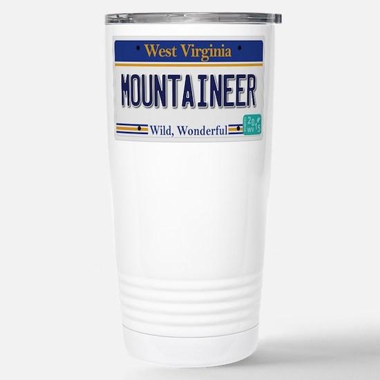 West Virginia - Mountai Stainless Steel Travel Mug