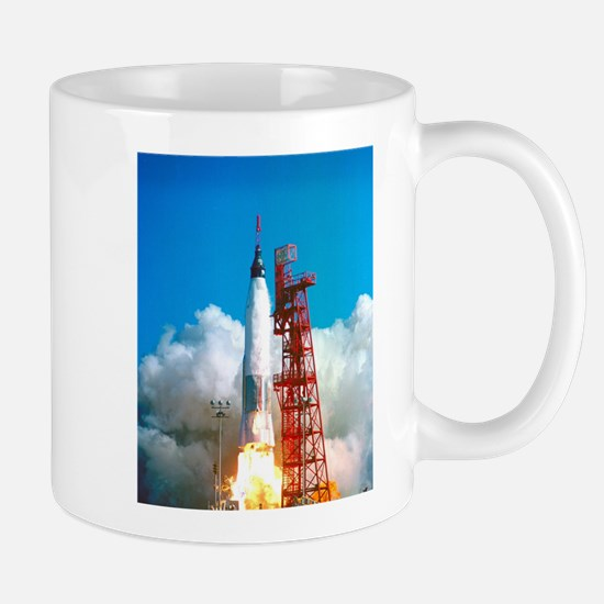 Launch of Project Mercury's Friendship 7 Mugs