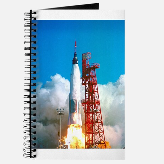 Launch of Project Mercury's Friendship 7 Journal
