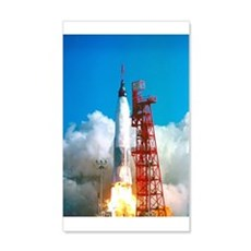 Launch Of Project Mercury's Wall Decal