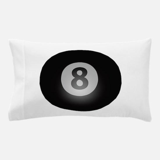 Billiards Eight Ball Pillow Case