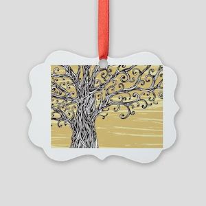 Tree Art Ornament
