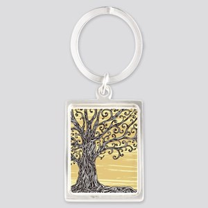 Tree Art Keychains