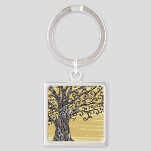 Tree Art Keychains