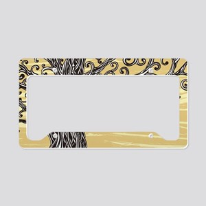 Tree Art License Plate Holder