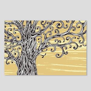 Tree Art Postcards (Package of 8)