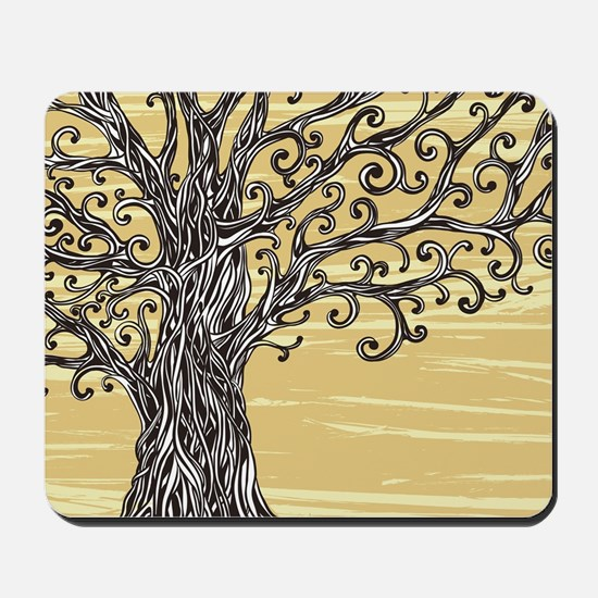 Tree Art Mousepad