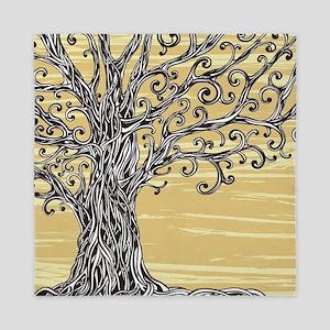 Tree Art Queen Duvet
