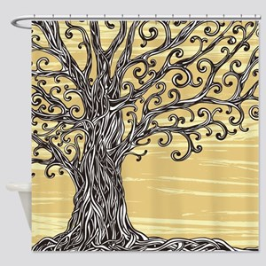 Tree Art Shower Curtain