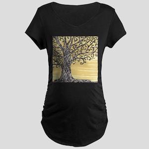 Tree Art Maternity T-Shirt