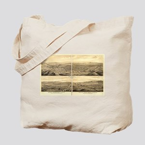Los Angeles, California 1877 Tote Bag