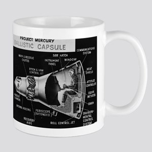 Project Mercury Ballistic Capsule Mugs