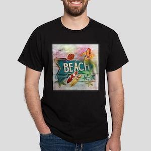 sunrise beach surfer T-Shirt