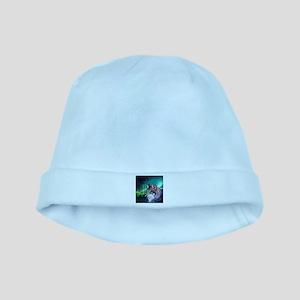 dream catcher northern light wolf baby hat